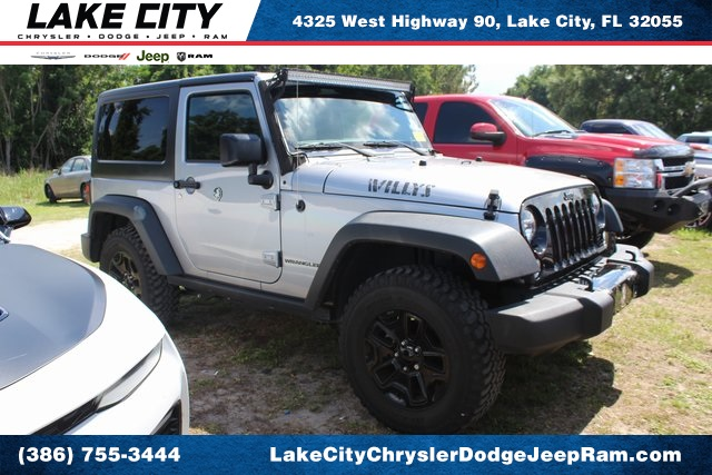 Pre-Owned 2016 Jeep Wrangler Sport Willys
