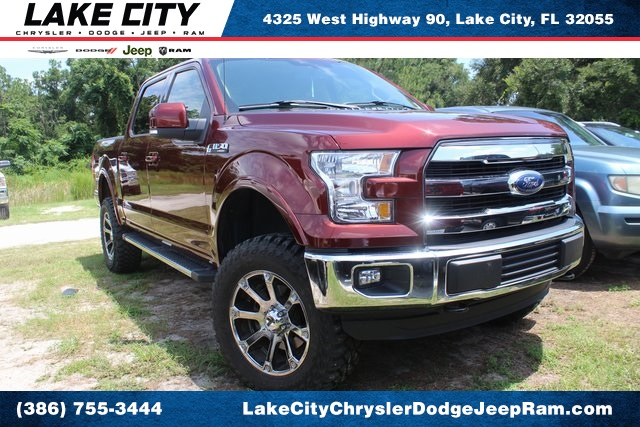 Pre-Owned 2016 Ford F-150 Lariat LIFTED