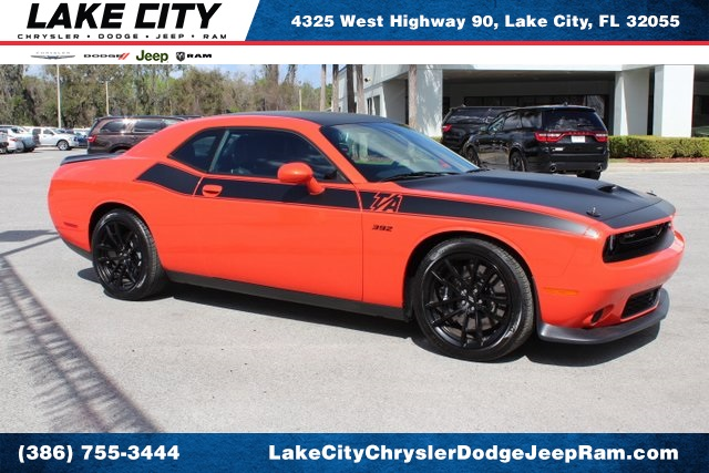 new 2018 dodge challenger srt8 392 coupe in lake city h215193