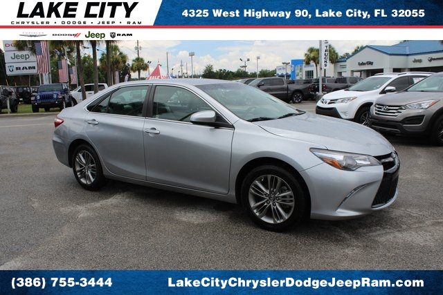 Lake City Toyota >> Pre Owned 2017 Toyota Camry Se 4d Sedan In Lake City O741626 Lake