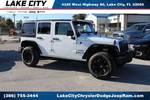 Pre-Owned 2017 Jeep Wrangler Unlimited Sport S